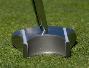 Back view of the GP putter