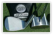 GP putter and HBB 56 wedge